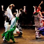 Flamenco Dancers doing Sevillanas