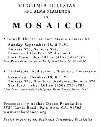 Mosaico - dates 2003
