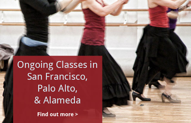 Ongoing Classes throughout the Bay Area